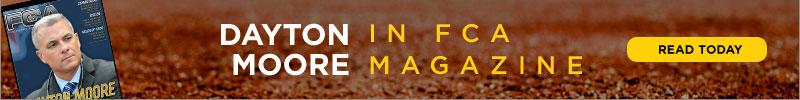 Dayton Moore in FCA Magazine