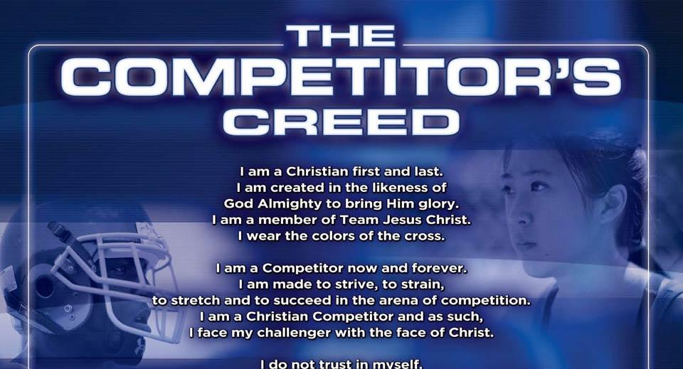 Competitor's Creed