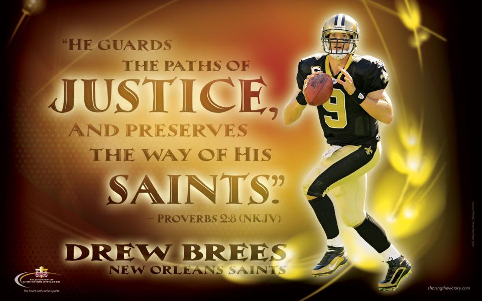 Drew Brees Fca Resources